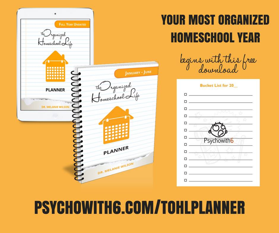 Check out this freebie and get started Organizing your homeschool life now!
