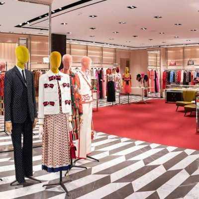 High-end boutique