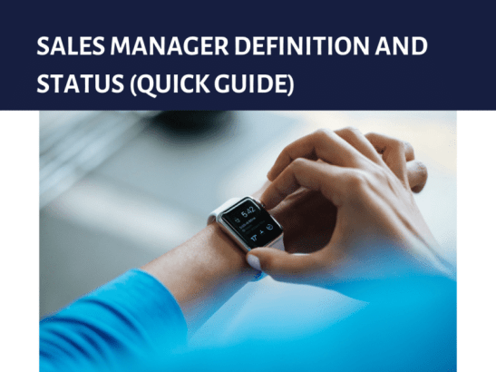Status or roles of a manager