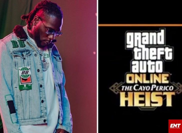 Burna Boy Grand Theft Auto Game