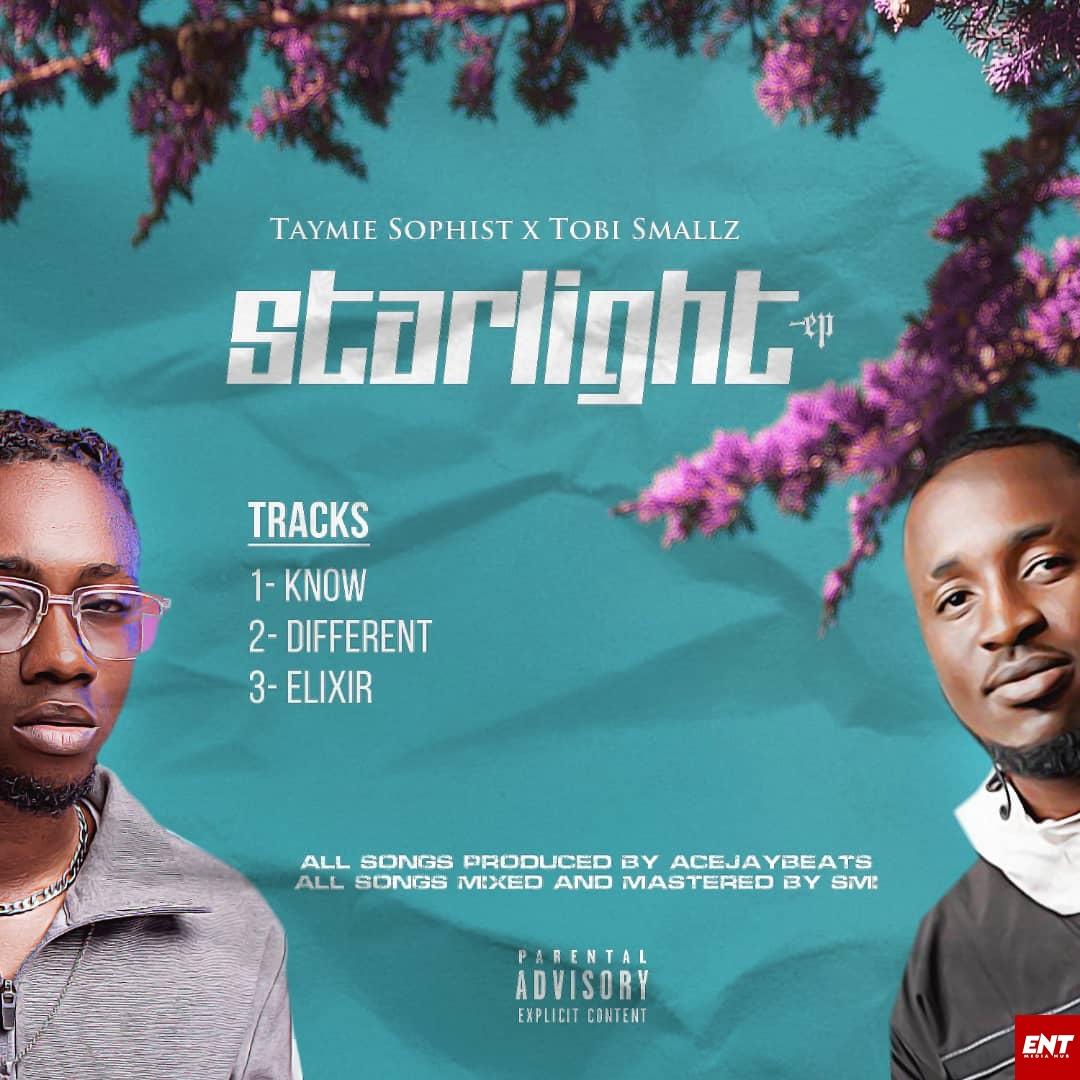 Taymie Sophist x Tobi Smalls - STARLIGHT EP