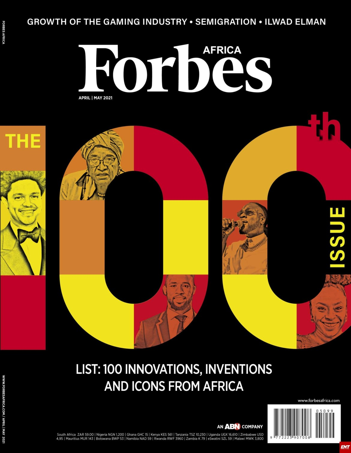 Forbes Africa Icons list 2021