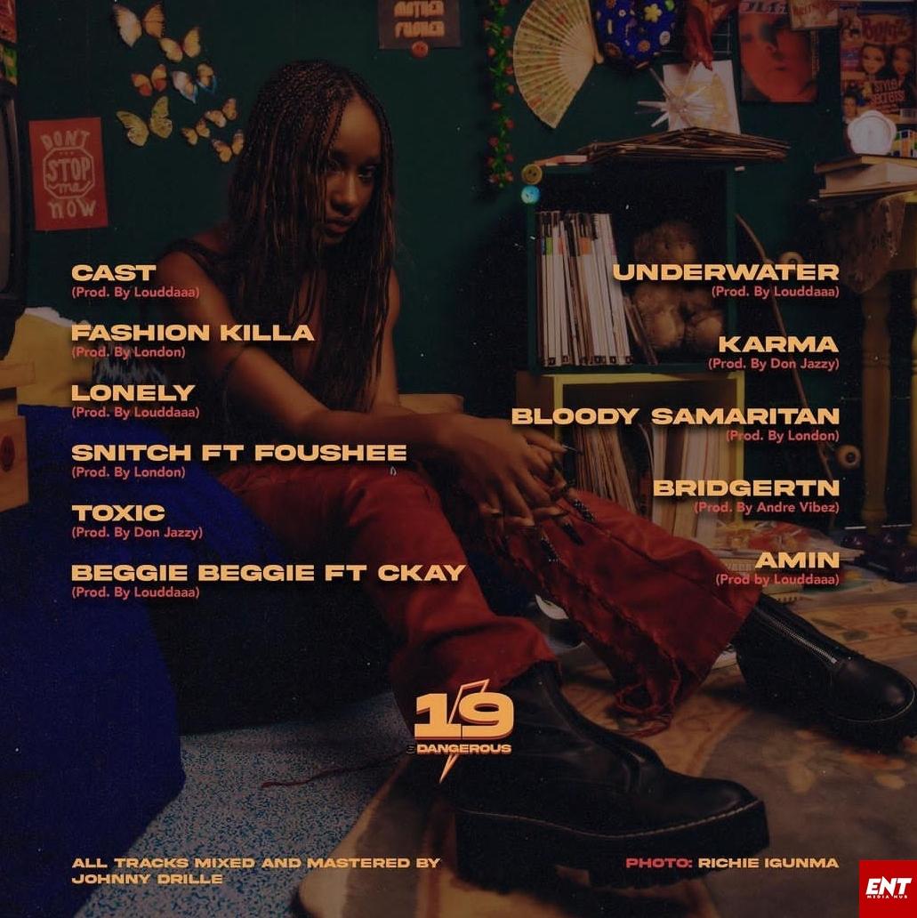 Ayra Starr 19 & Dangerous Album