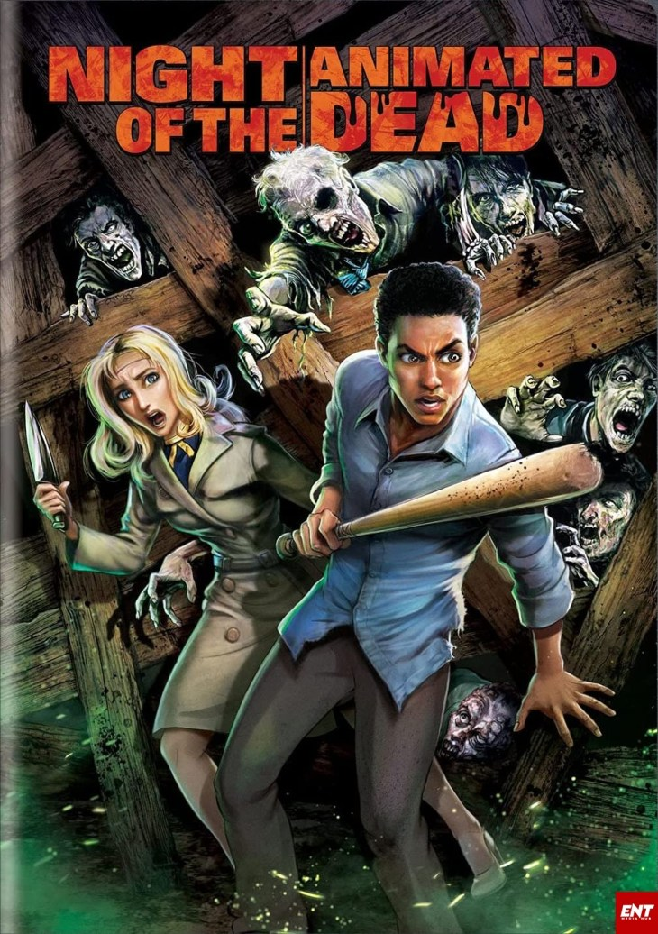 MOVIE : Night of the Animated Dead (2021) (Animation)