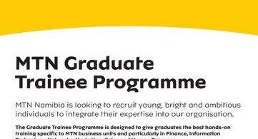 MTN Namibia Graduate Trainee Recruitment 2019