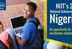 NIIT NIGERIA Scholarship 2019 (20th NATIONAL IT) SCHOLARSHIP 2019 for Young Nigerians.