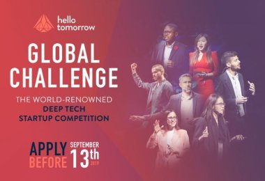 2019 Hello Tomorrow Global Startup Competition