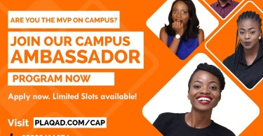 Plaqad Campus Ambassador Program 2019 for Nigerian Undergraduate