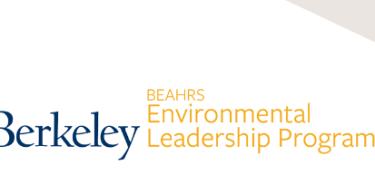 Bearhrs environmental leadership program