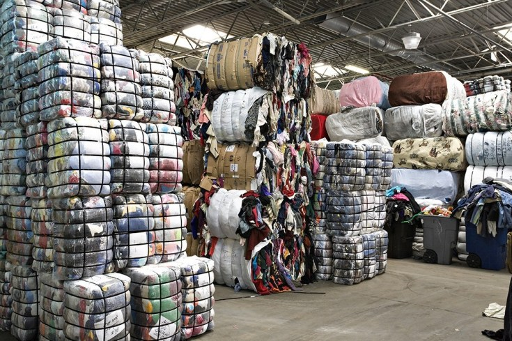 how much is a bale of used clothes in nigeria