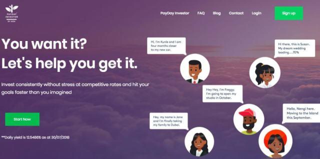 PayDay savings platforms