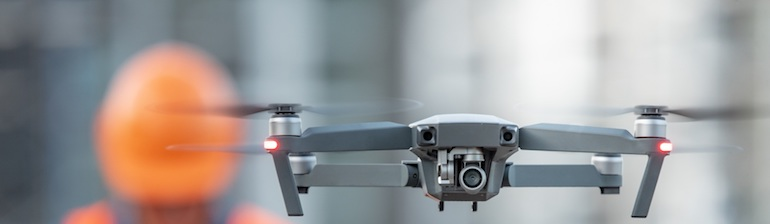 servizi professionali con droni
