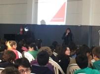 Sub. Directora de Educación, Lic. Cristina Rodrigues