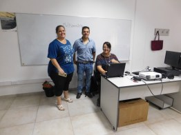 Nivel Primario: Prof. Romina Nistal, Prof. Roman Piñeiro, Fabiana Claret