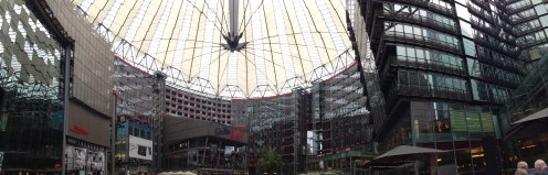 Sony Center, Potsdamer Platz, Berlin