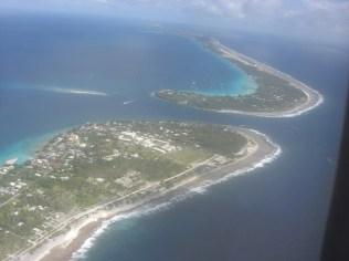 Vue aérienne de Rangiroa - Tuamotu