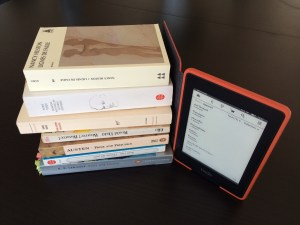 Kindle vs livre