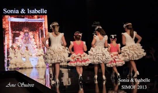 Sonibel trajes de flamenca niñas