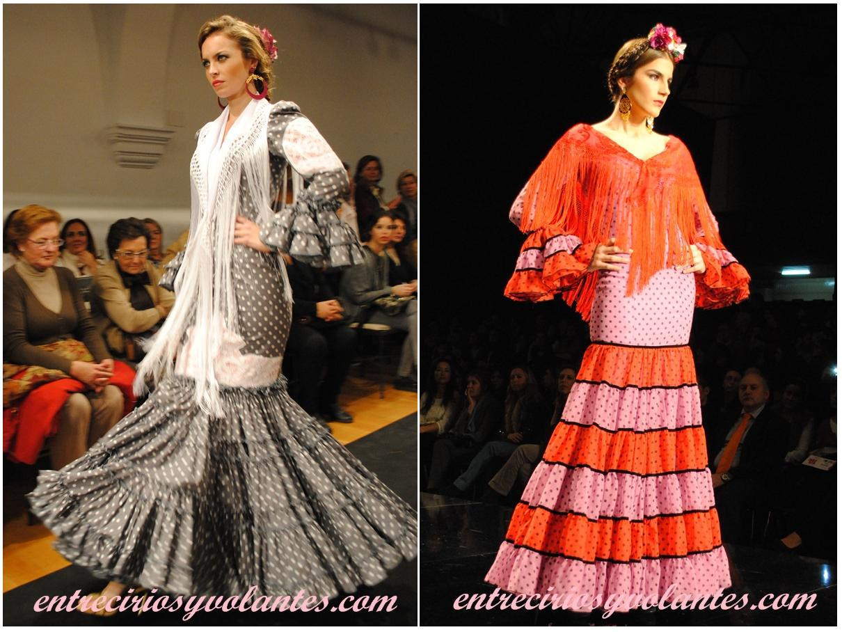 90746c74c1 Trajes de flamenca canasteros ¿En qué se diferencian  - Entre cirios ...