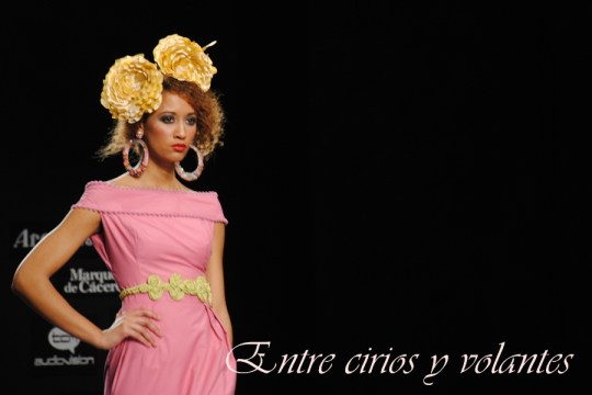 Traje de flamenca de Javier Garcia Tango Simof 2014