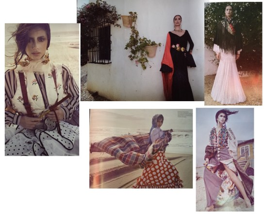 Surrealista Moda Flamenca