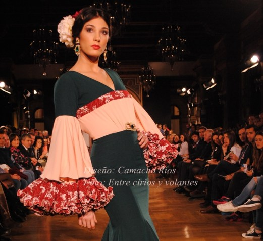 Camacho Rios we love flamenco 2015 mangas de flamenca