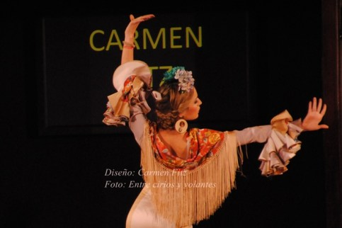Carmen Fitz We Love Flamenco 2015 mangas de flamenca