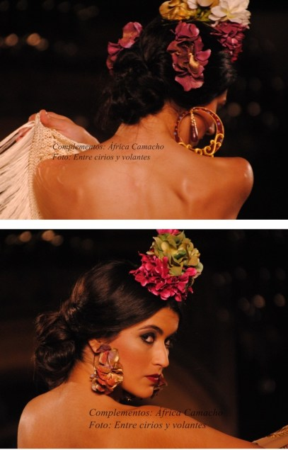 complementos flores de flamenca