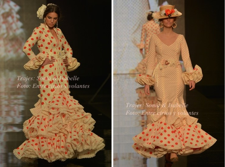 Sonibel Trajes de flamenca para el rocio 2015