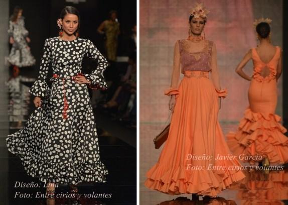 faldas de flamenca lina y javier garcia simof 2015