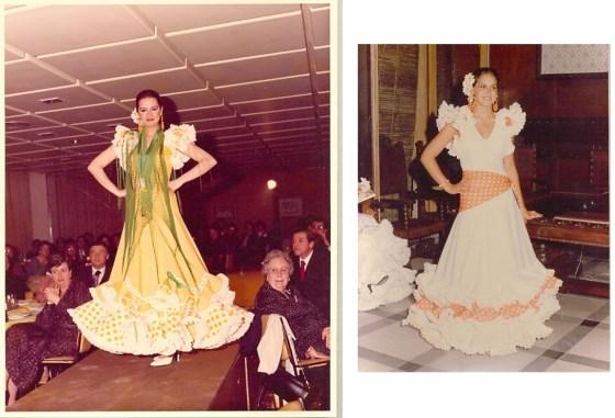 Lina trajes de flamenca de 1970