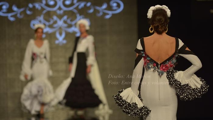 traje de flamenca ana moron foto entre cirios y volantes simof