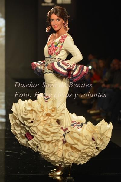 traje de flamenca de sara de benitez simof