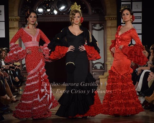 Aurora Gaviño we love flamenco 2016 entre cirios y volantes 2