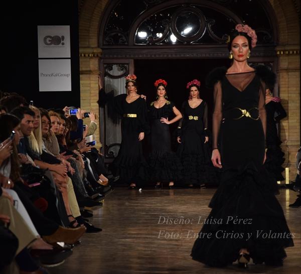 Luisa Perez trajes de flamenca we love flamenco 2016 entre cirios y volantes