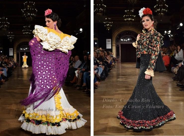 camacho rios trajes de flamenca 2016 entre cirios y volantes 2