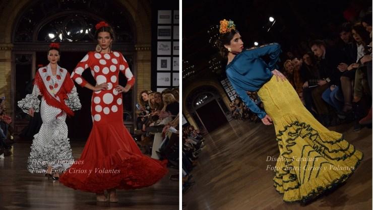 faralaes moda flamenca entre cirios y volantesç