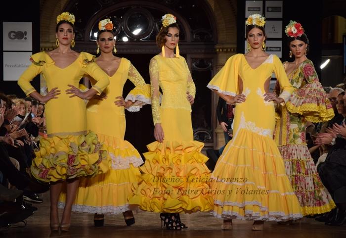 leticia lorenzo trajes de flamenca 2016 entre cirios y volantes 2