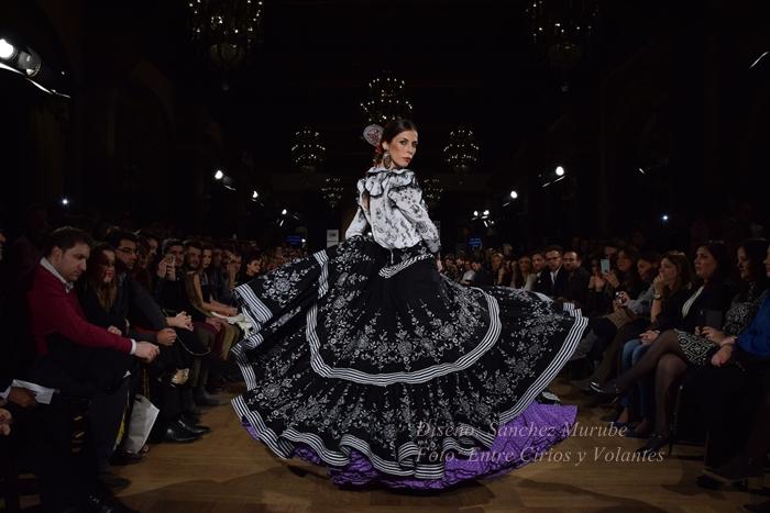 sanchez murube trajes de flamenca entre cirios y volantes