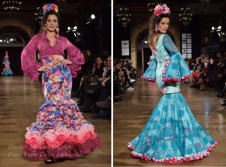 santana diseños trajes de flamenca 2016 2