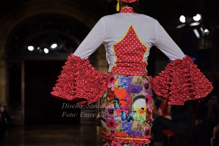 santana diseños trajes de flamenca 2016