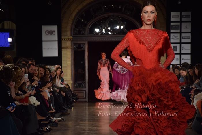 tendencia trajes de flamenca 2016 jose hidalgo
