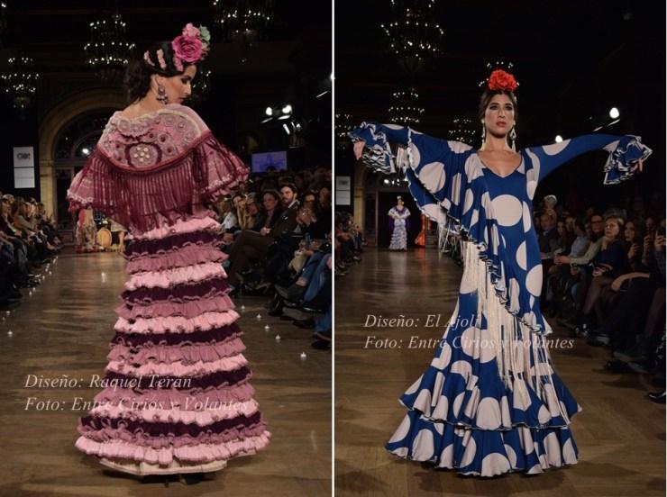 trajes de flamenca 2016 raquel teran y el ajoli