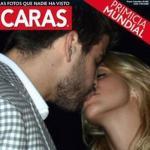 Beso a beso: Shakira y Gerard Piqué