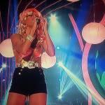Coki Ramirez en la piel de Christina Aguilera