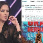 Victoria Vannucci y sus explosivos tweets tras abandonar El Debate de Gran Hermano 2015