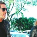 """Los días de Diego """"Cholo"""" Simeone y su novia Carla Pereyra en Buenos Aires"""