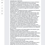 """Denuncian """"plagio"""" en la coreografía de Cinthia Fernández"""