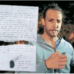 El manuscrito que Fariña presentó ante Casanello