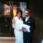 Pamela David se casó con Daniel Vila